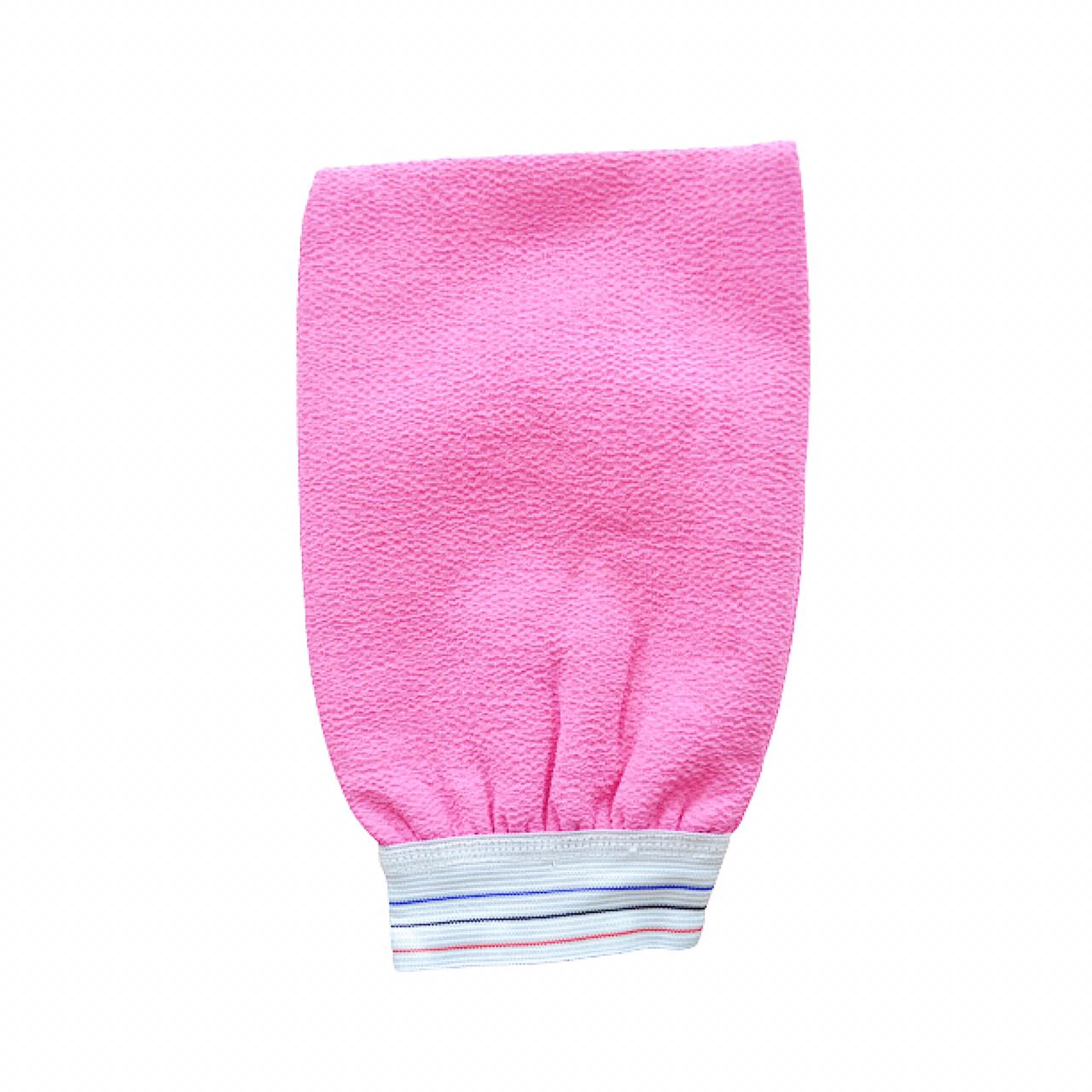 Beautystar Double Layer Moroccan Bath Mitt Assorted Color