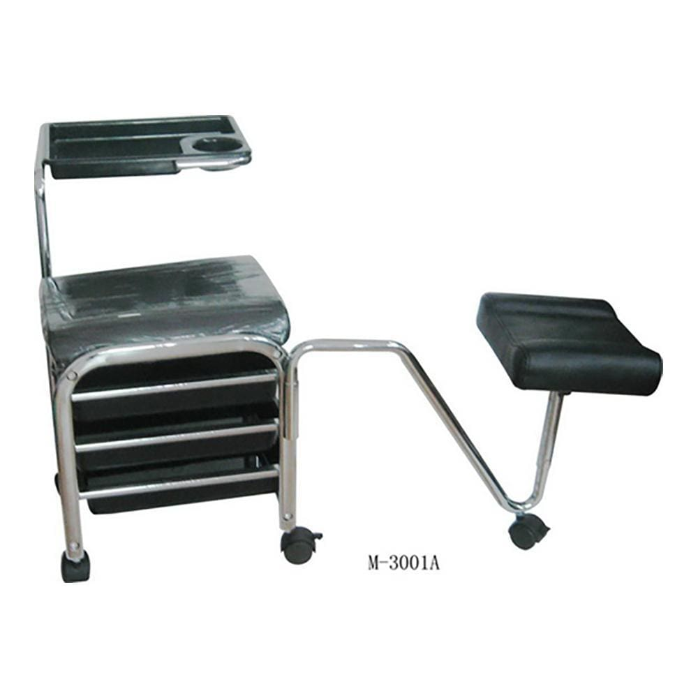 Black -Hand & Foot Care Pedicure Trolley M-3001A