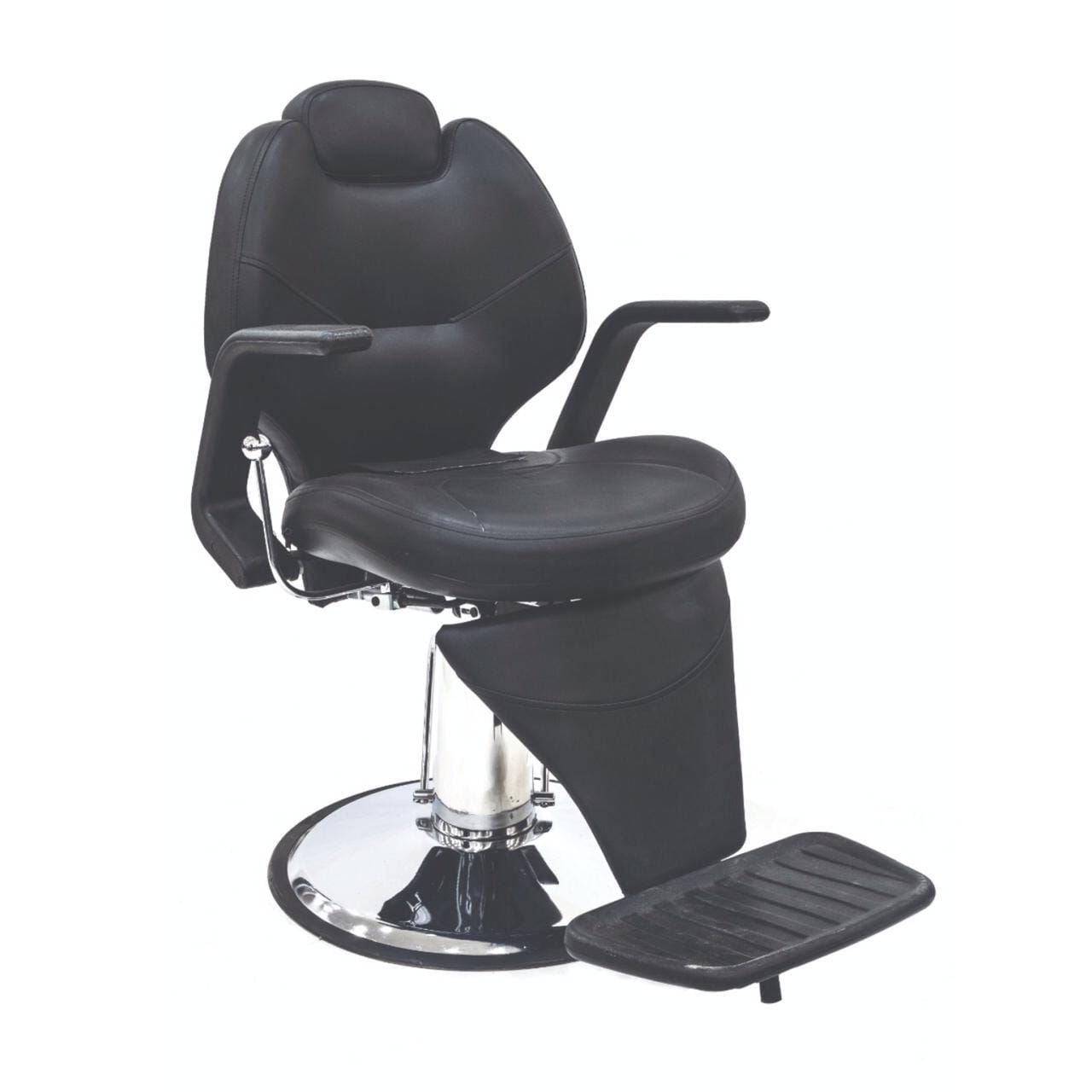 Black- Professional Hydraulic Barber Chair BS-2668A