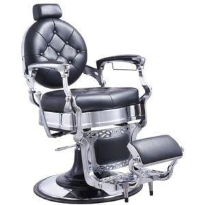Black -Professional Metal Hydraulic Barber Chair BX-2922