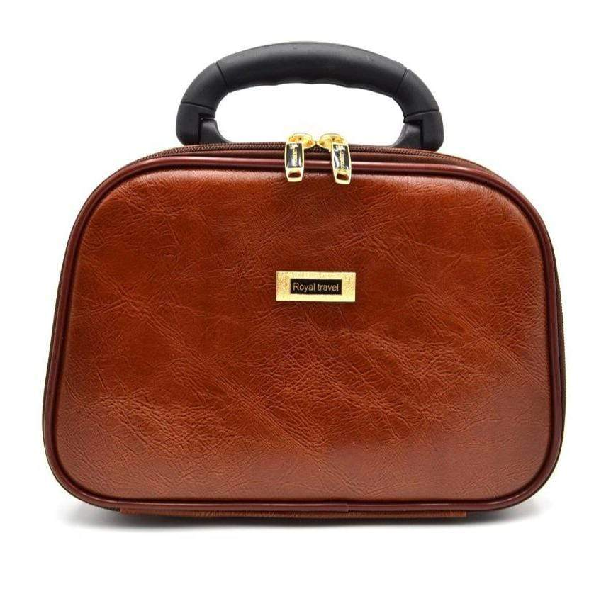 Royal Travel Small Brown Bag CB-101S