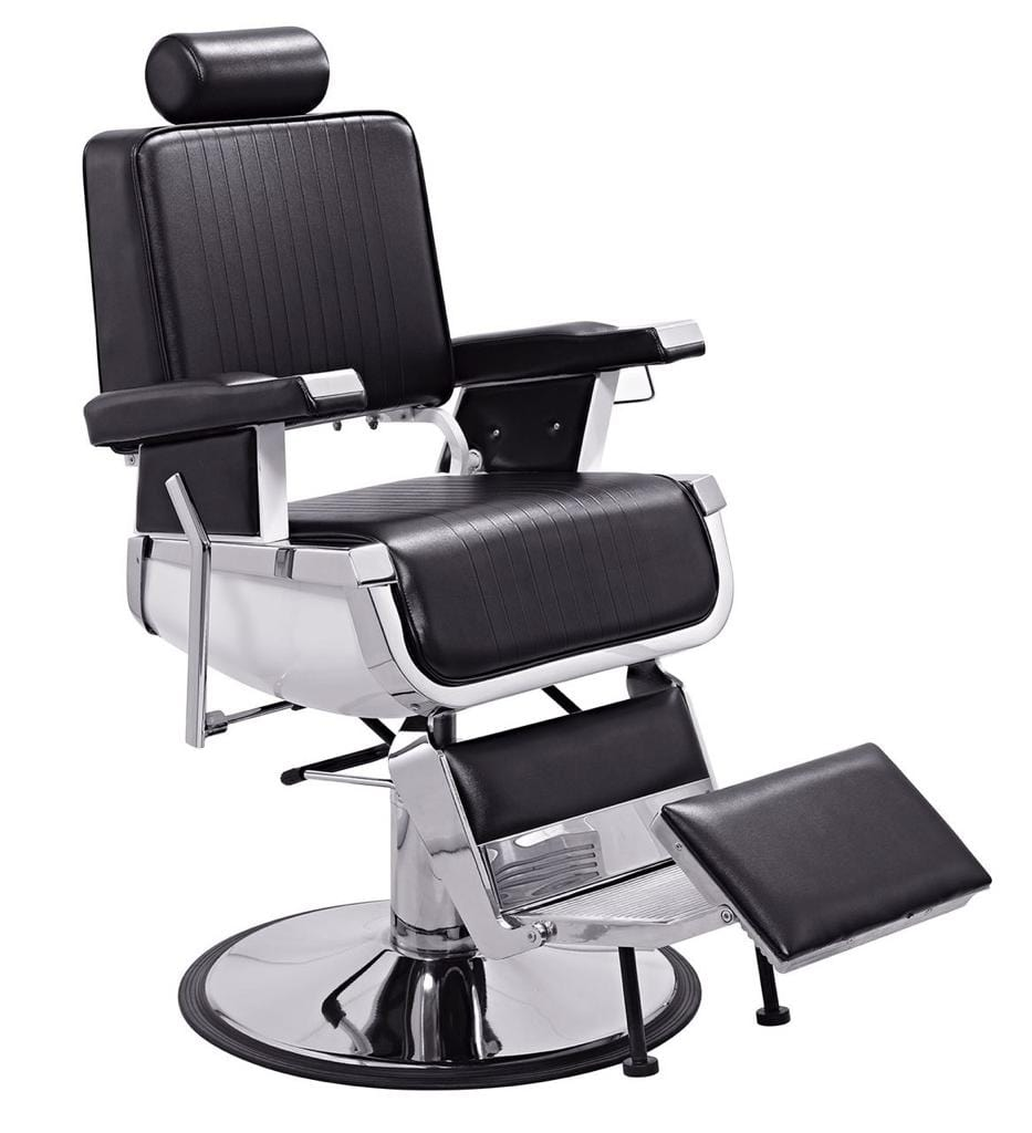 Black- Professional Hydraulic Barber Chair BS-7178