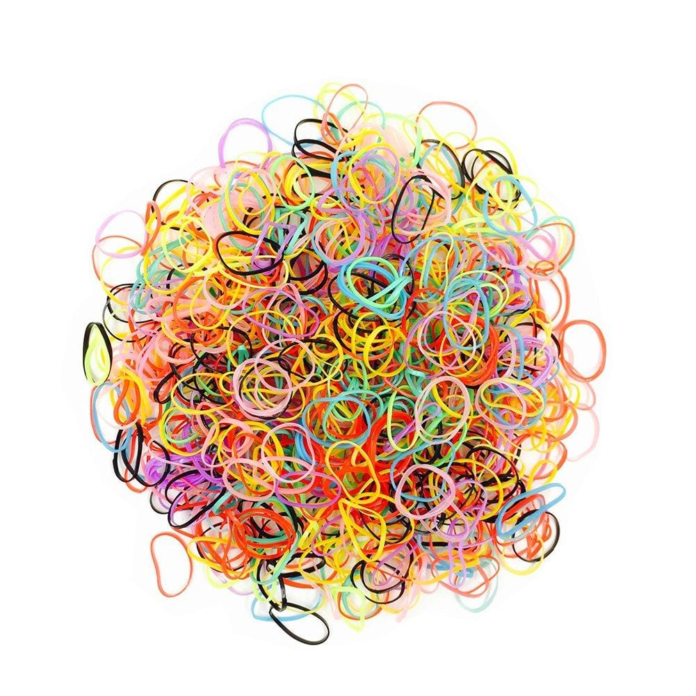 Globalstar Small Rubber Bands Assorted Colors - 10039