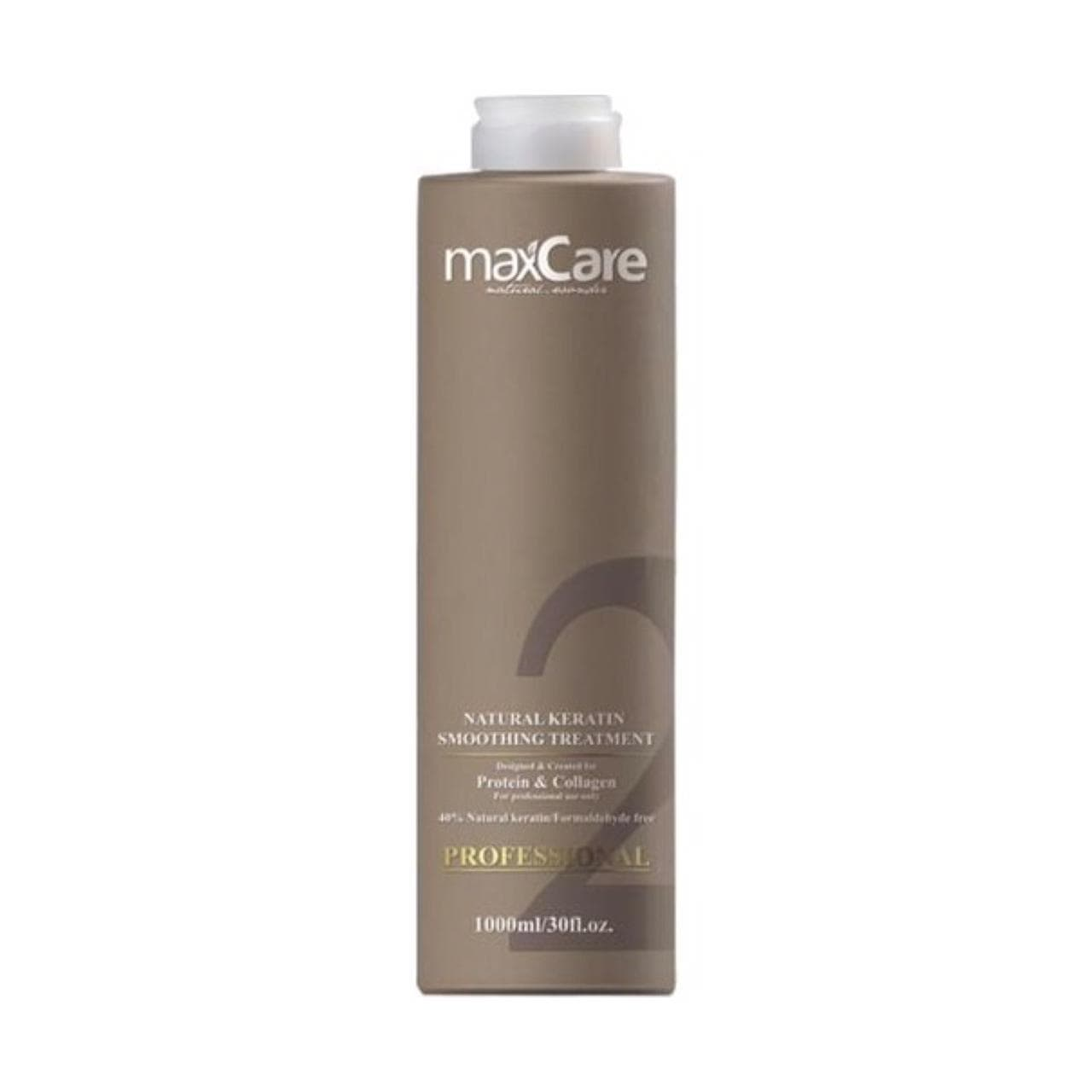 MaxCare Professional Natural Keratin Smoothing Treatment Step 2 1000ml