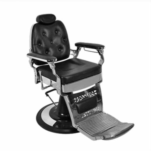 Black -Professional Black Barber Chair 2927