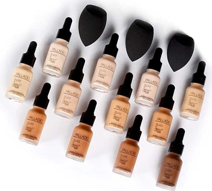 Palladio Build & Blend Foundation Drops