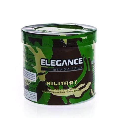Elegance Styling Hair Gel Military 1000Ml