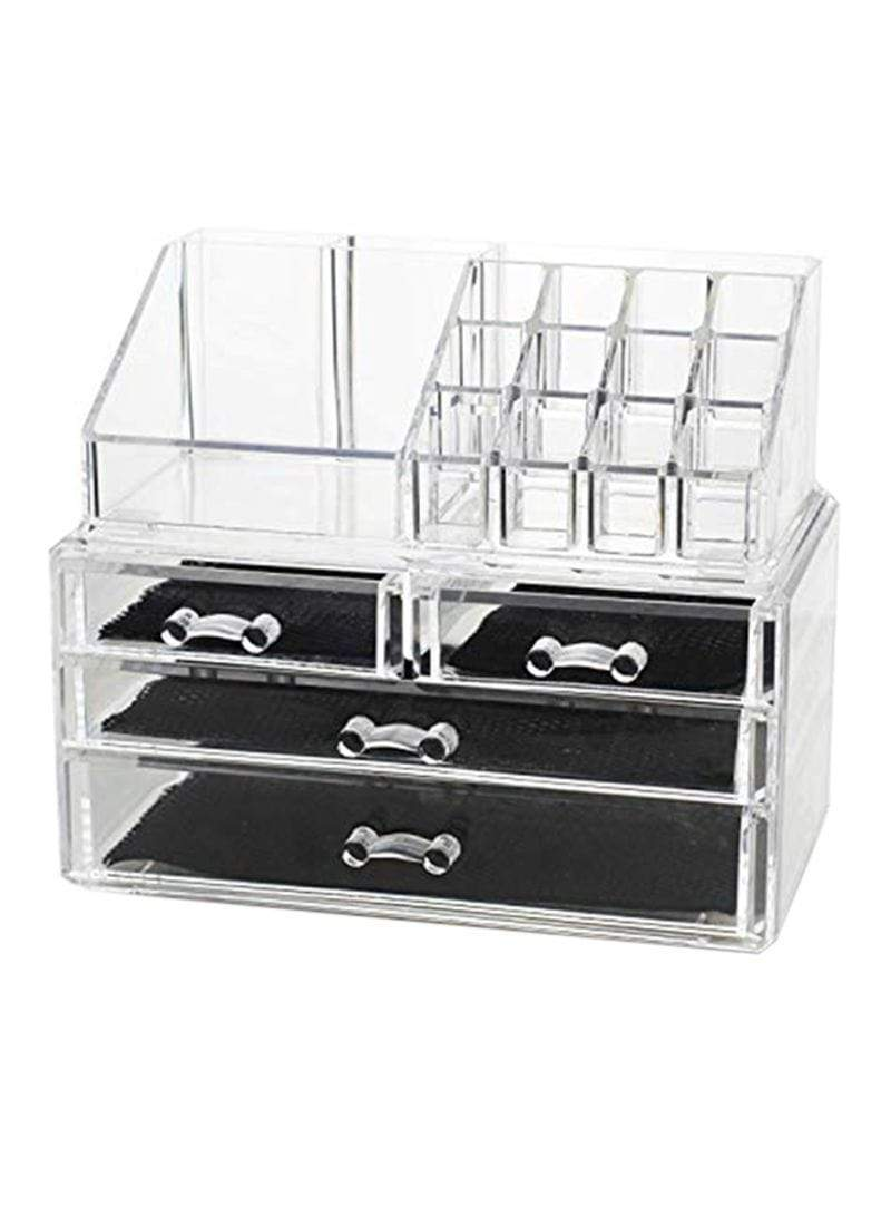 Cosmetic Make-up Organizer Transparent BS-901