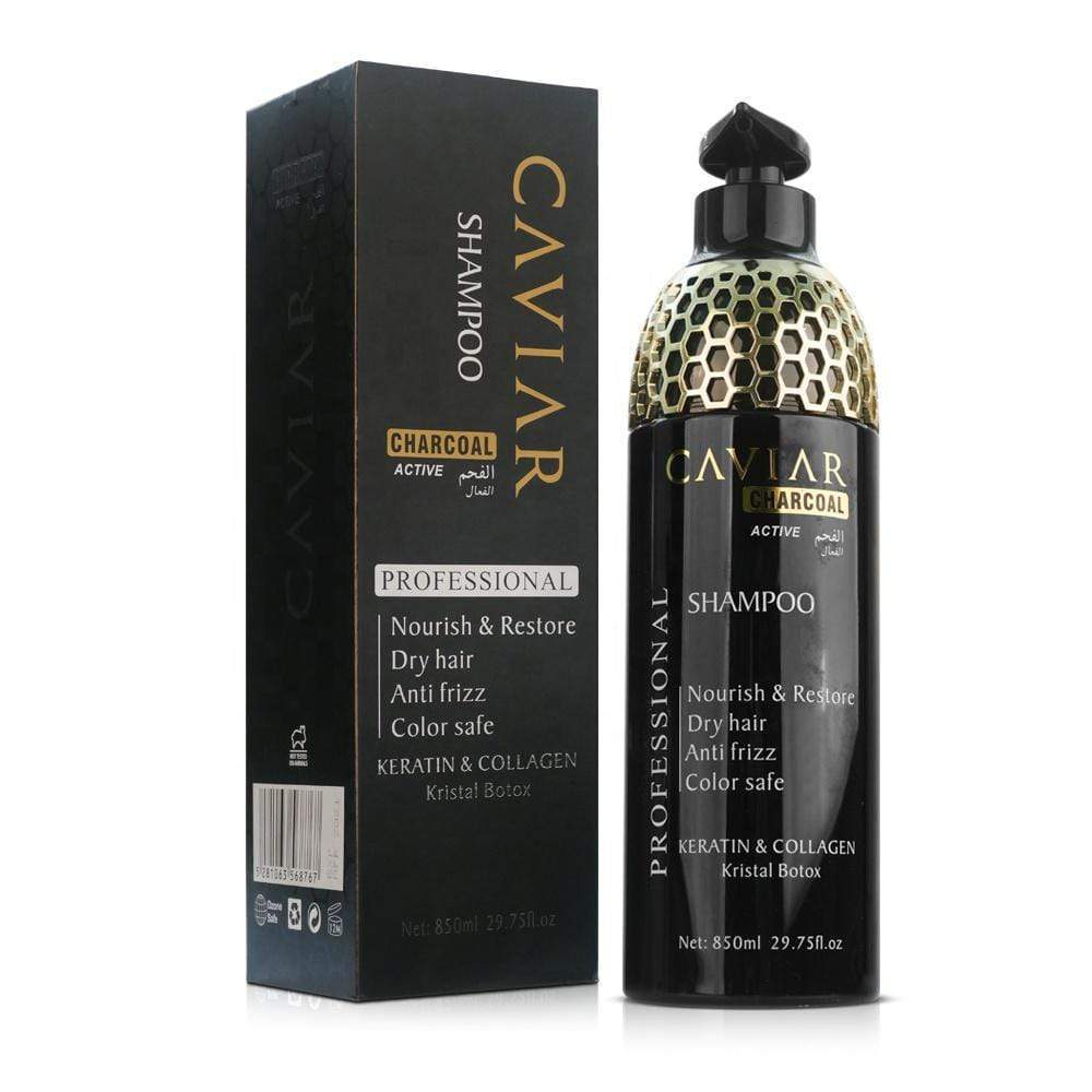 Caviar shampoo, Caviar charcoal, Hair care, Hair treatment, Anti frizz shampoo, Hair damaged shampoo, Dry hair shampoo