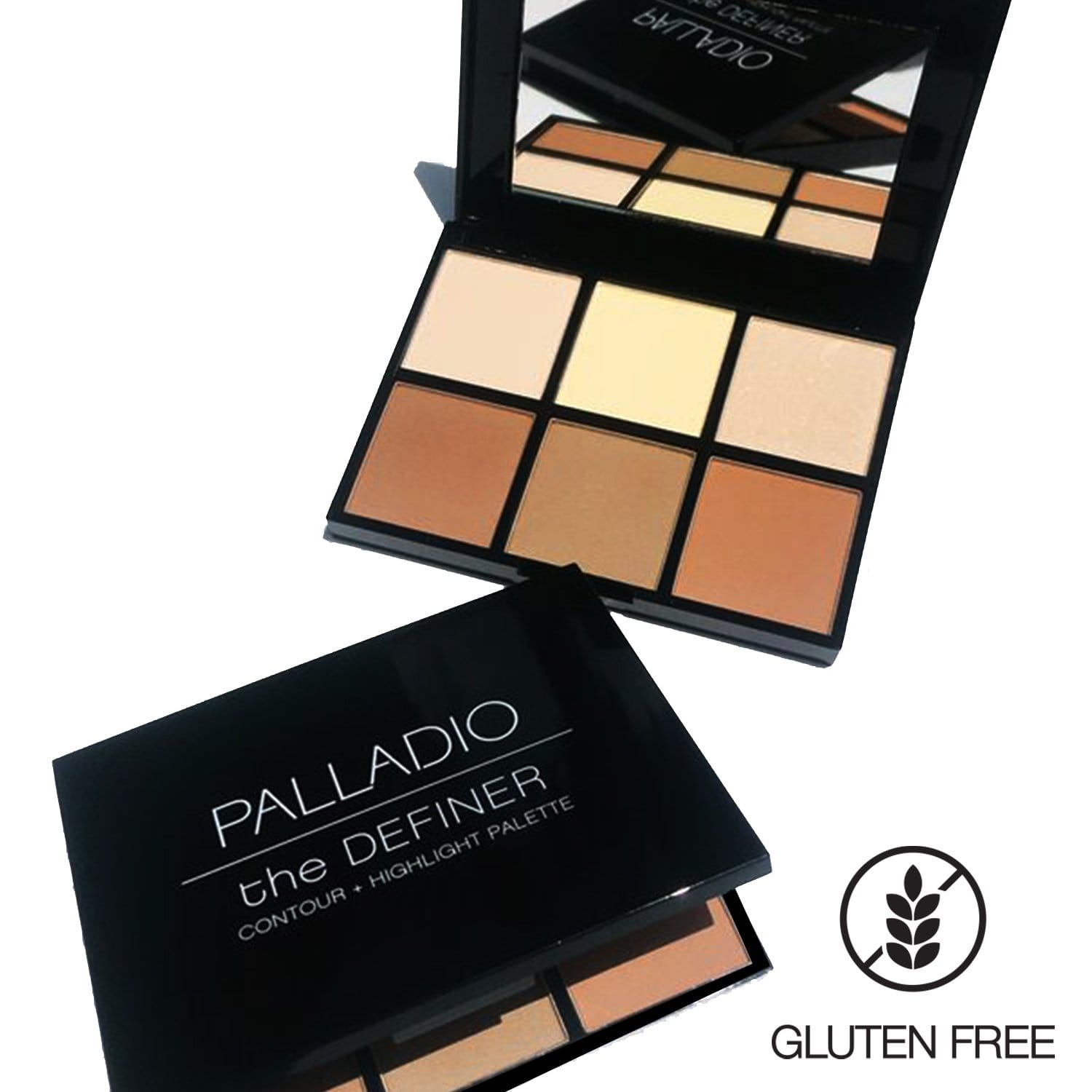 Palladio The Definer Contour & Highlight Palette