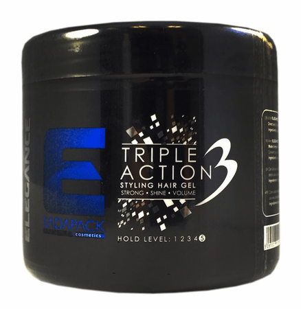 Elegance Triple Action Styling Hair Gel