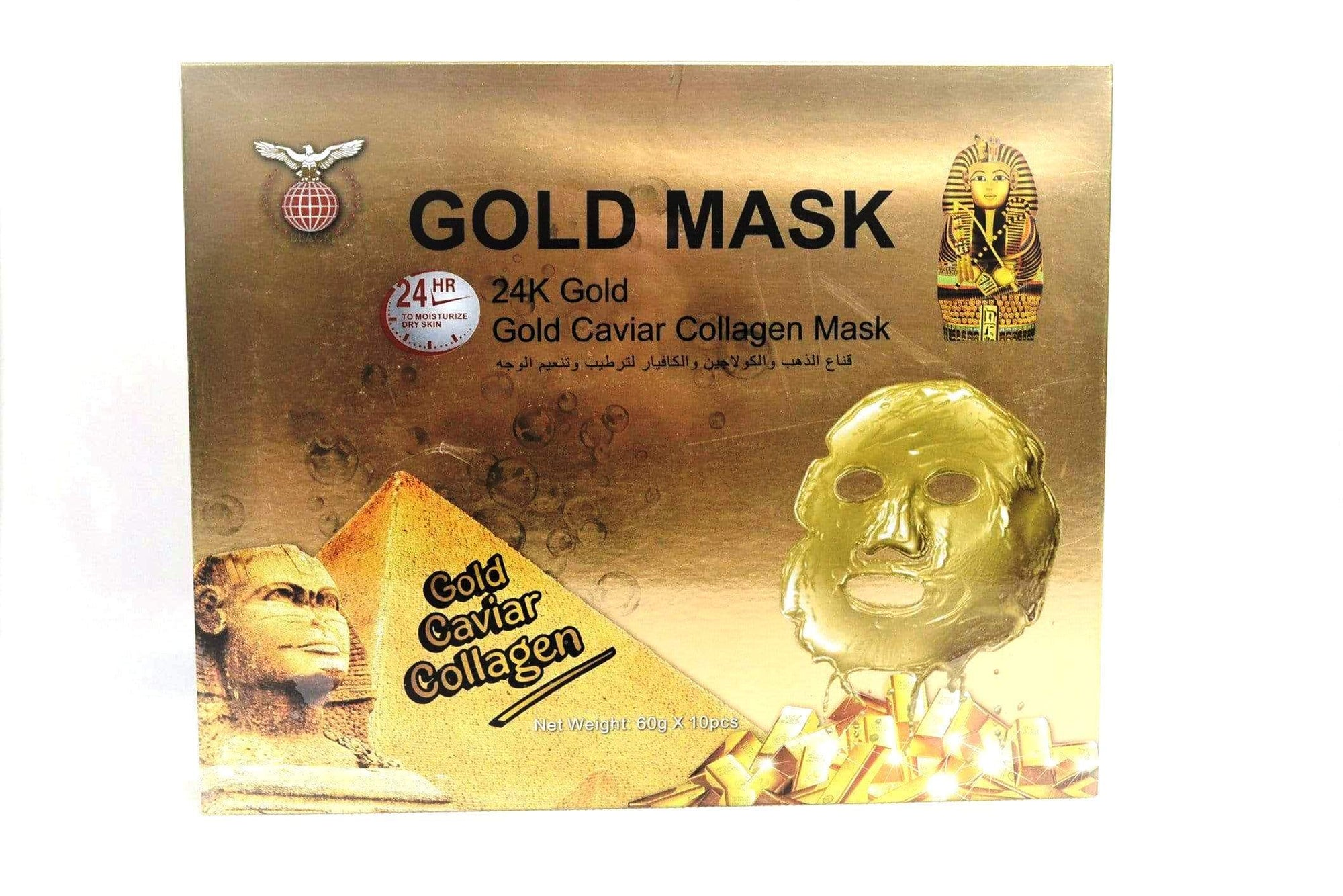 Black Gold Caviar Collagen Mask - 60gx10pcs
