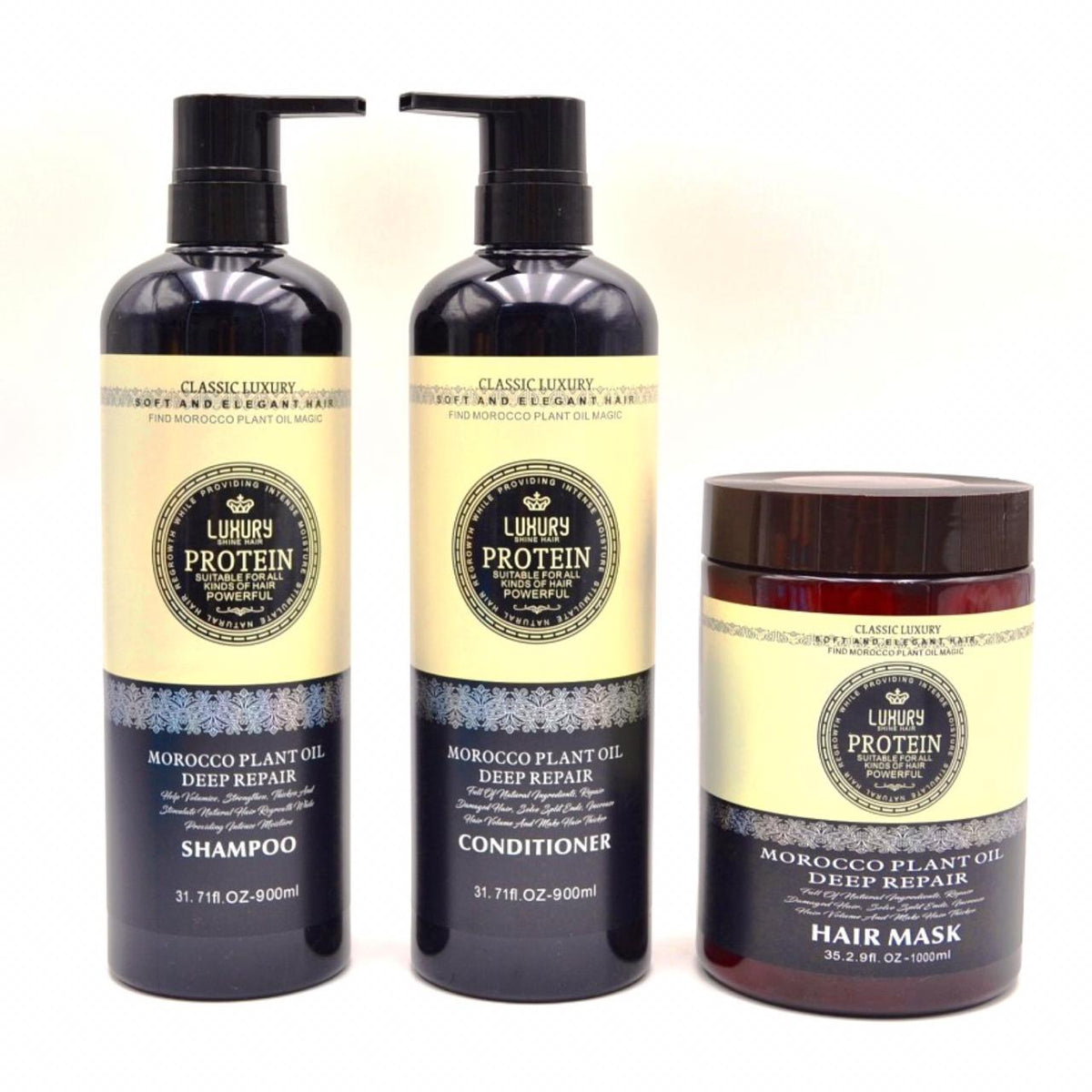 Morocco oil, Hair care set, Damaged hair, Hair repair, Hair kit, Hair bundle, Hair treatment