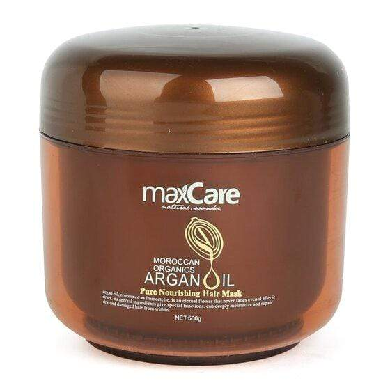 Maxcare Argan Oil Pure Nourishing Hair Mask 500g