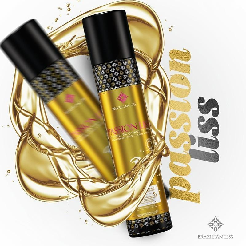 Passion liss is a protein hair straightener with the 2-in-1 anti-frizz treatment mask
