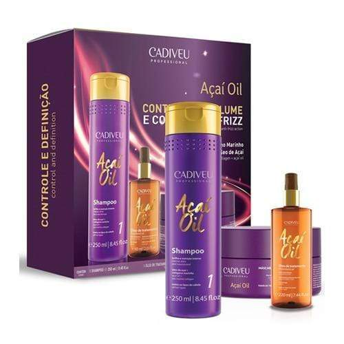 Cadiveu Acai Oil Natural Home Care Kit 1x3