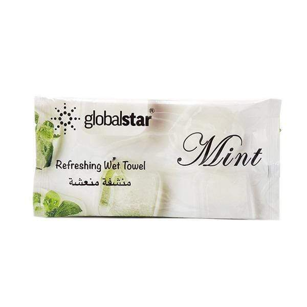 Globalstar Refreshing Wet Towel Mint 1pc - RT04