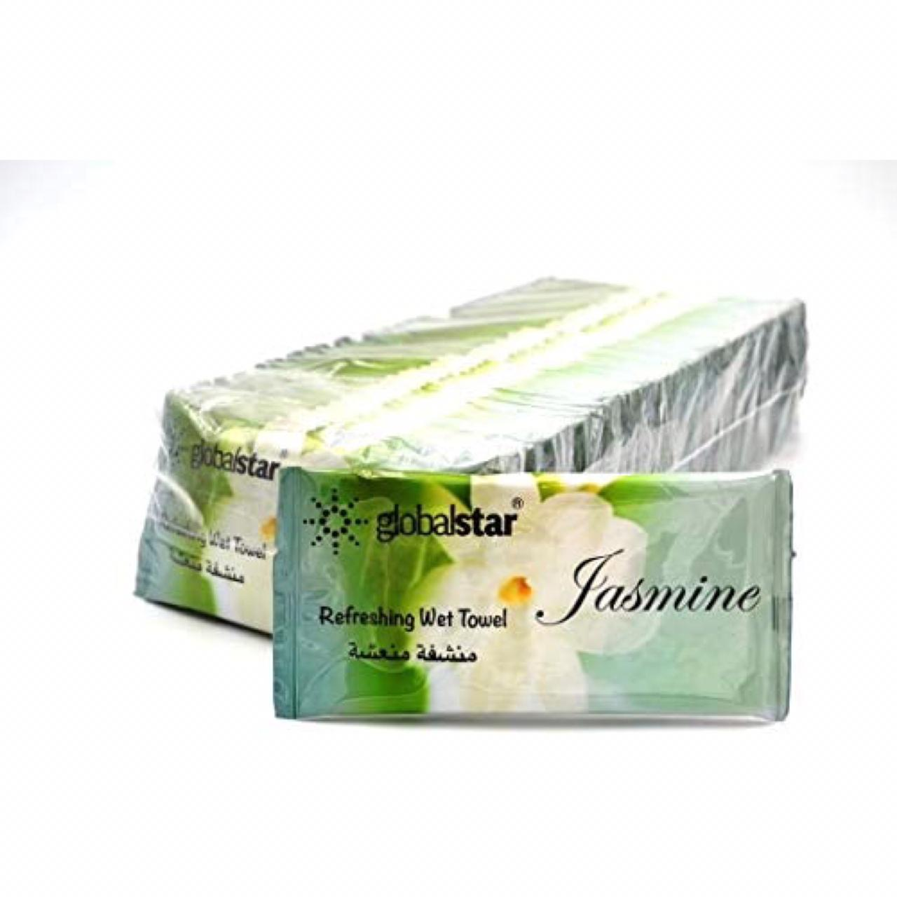 Globalstar Refreshing Wet Towel Jasmine 200pcs - RT03