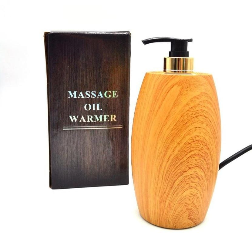 Globalstar Wood Massage Oil Warmer Bottle EO-35