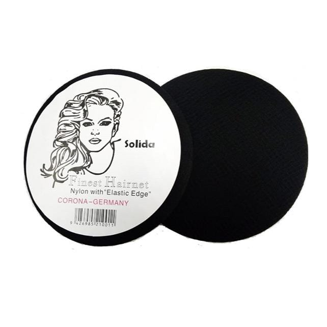 Solida Disposable Hairnet Black - BS9001