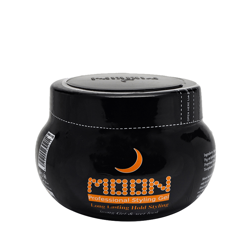 Moon Hair Gel Black Jar