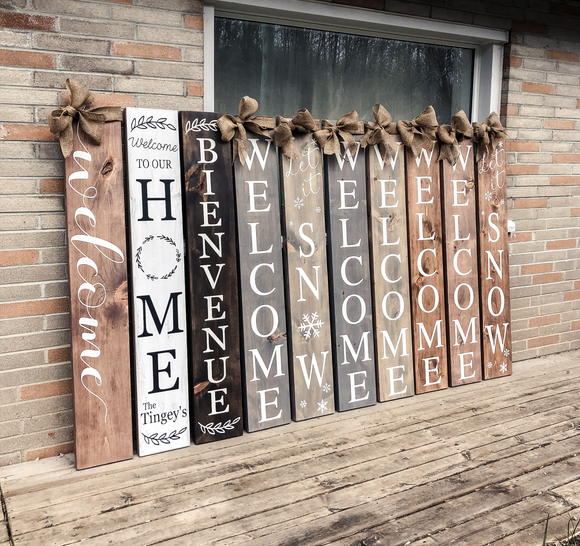 Porch Signs