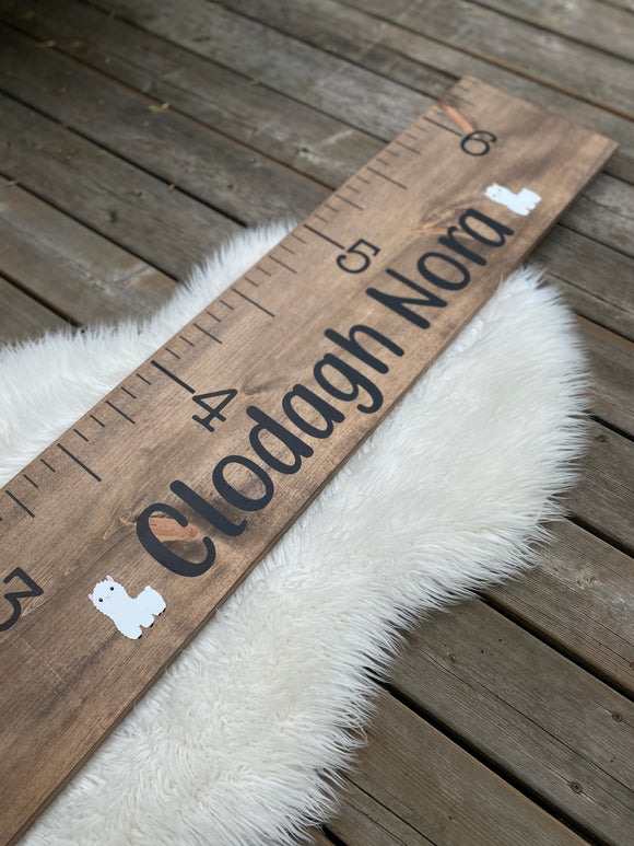 Growth Chart w/ 2 Graphics