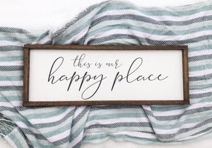 """This is Our Happy Place"""