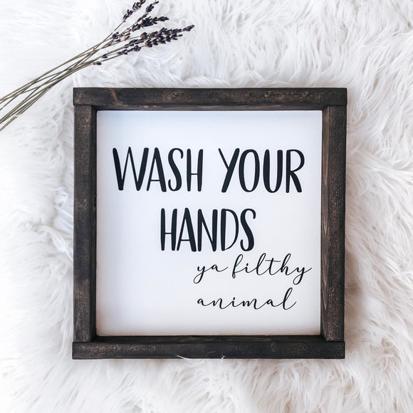 Wash Your Hands (12