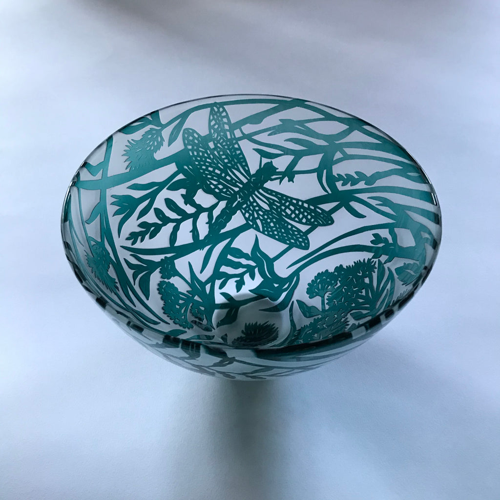 Waters Edge Darter Bowl by Colin and Louise Hawkins