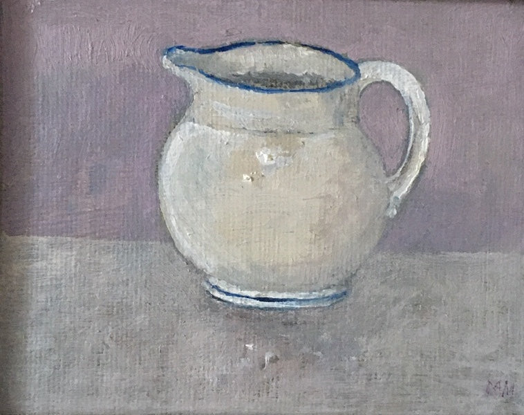 White Jug by Muriel Mallows