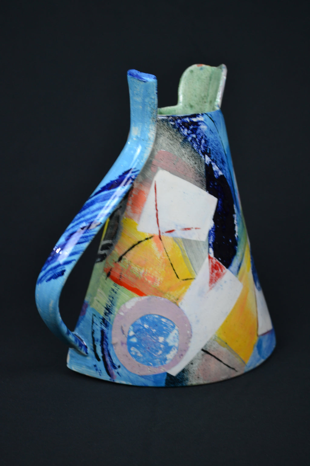 Two Sided Madrugada Jug by Paul Jackson