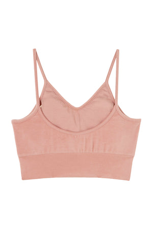 Peach Stretch Bra Top