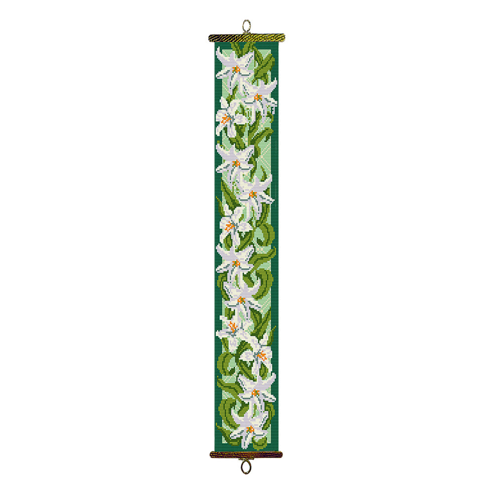 Lilies Bell Pull Tapestry Kit
