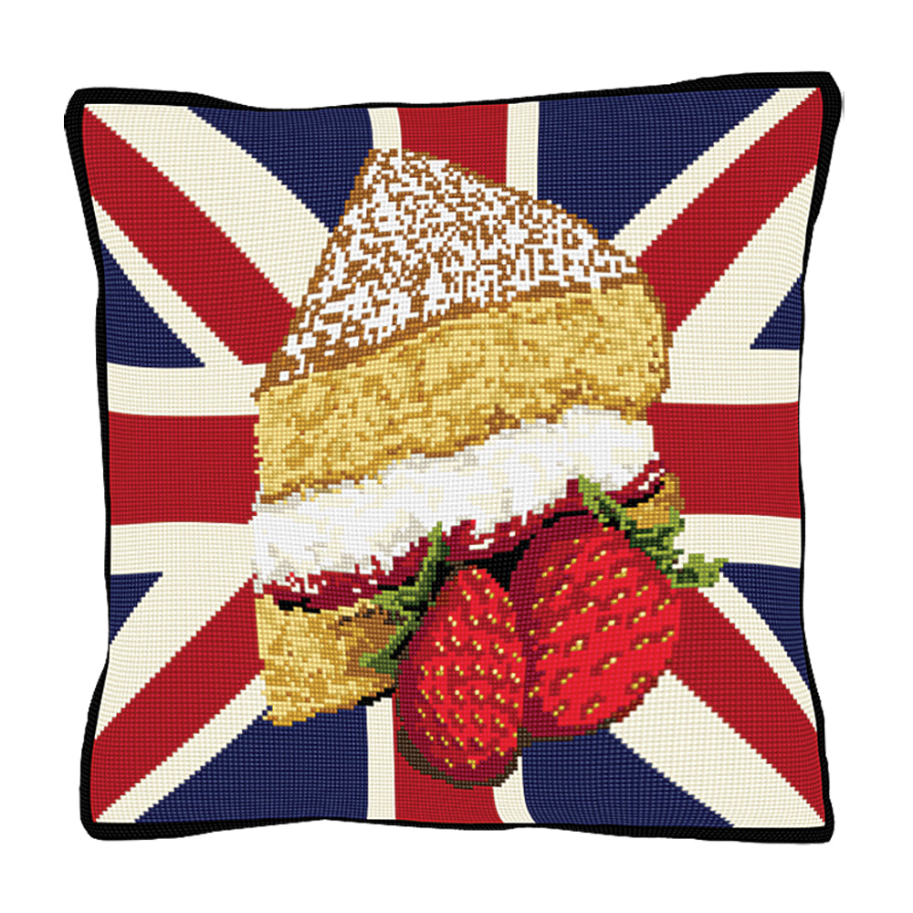 Afternoon Tea Cushion Tapestry Kit