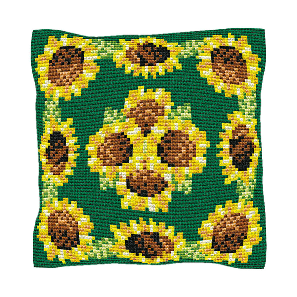 Sunflowers Cushion Tapestry Kit