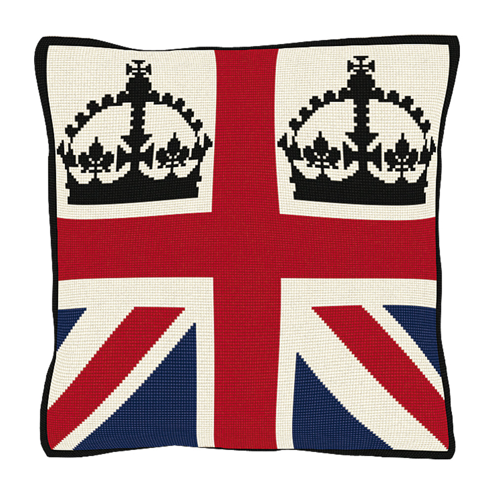 United Kingdom Cushion Tapestry Kit