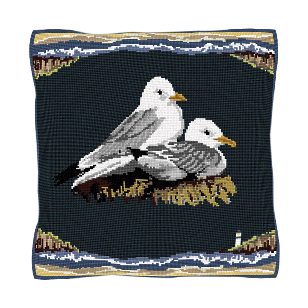Kittiwakes Cushion Tapestry Kit