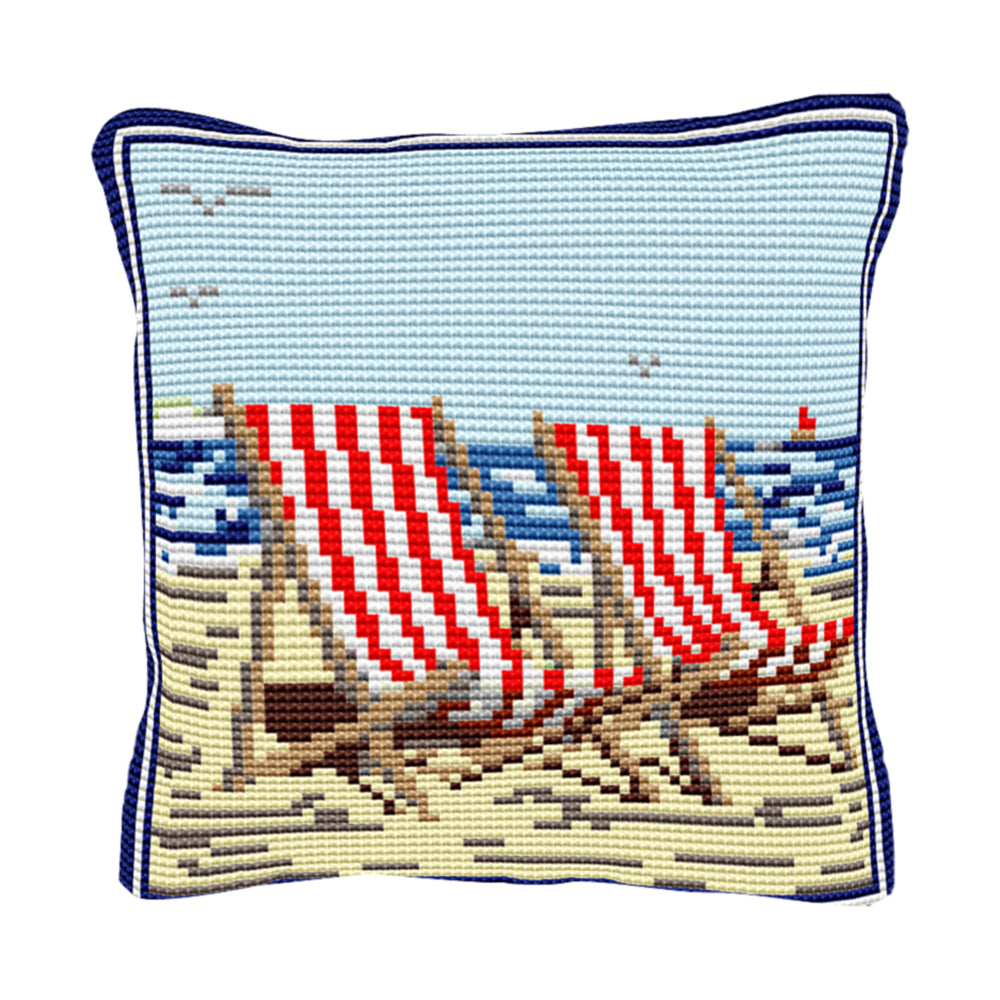 Deck Chairs Cushion Tapestry Kit