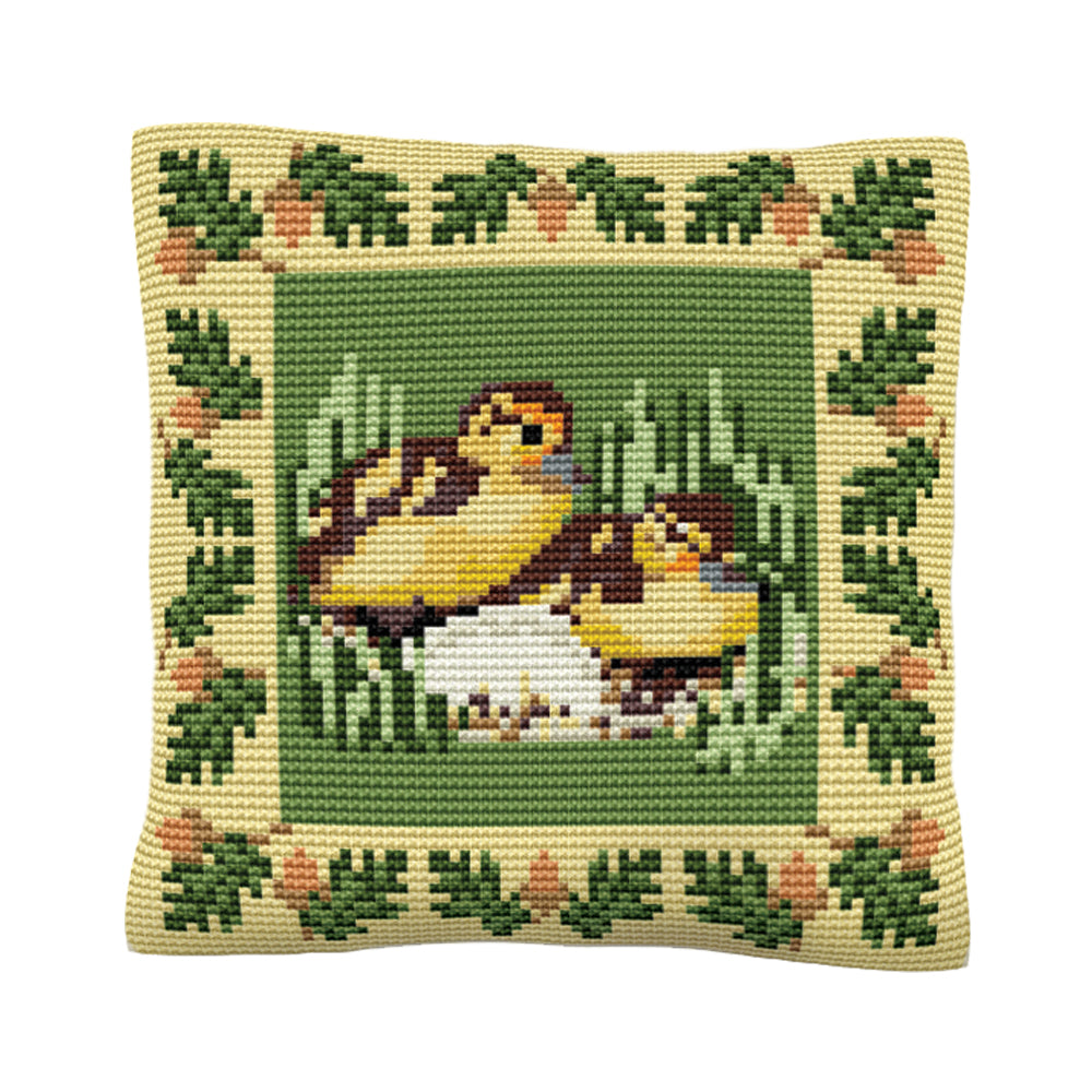 Ducklings Cushion Tapestry Kit