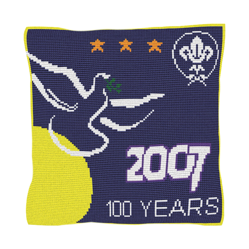 Scouting Centenary Cushion Tapestry Kit