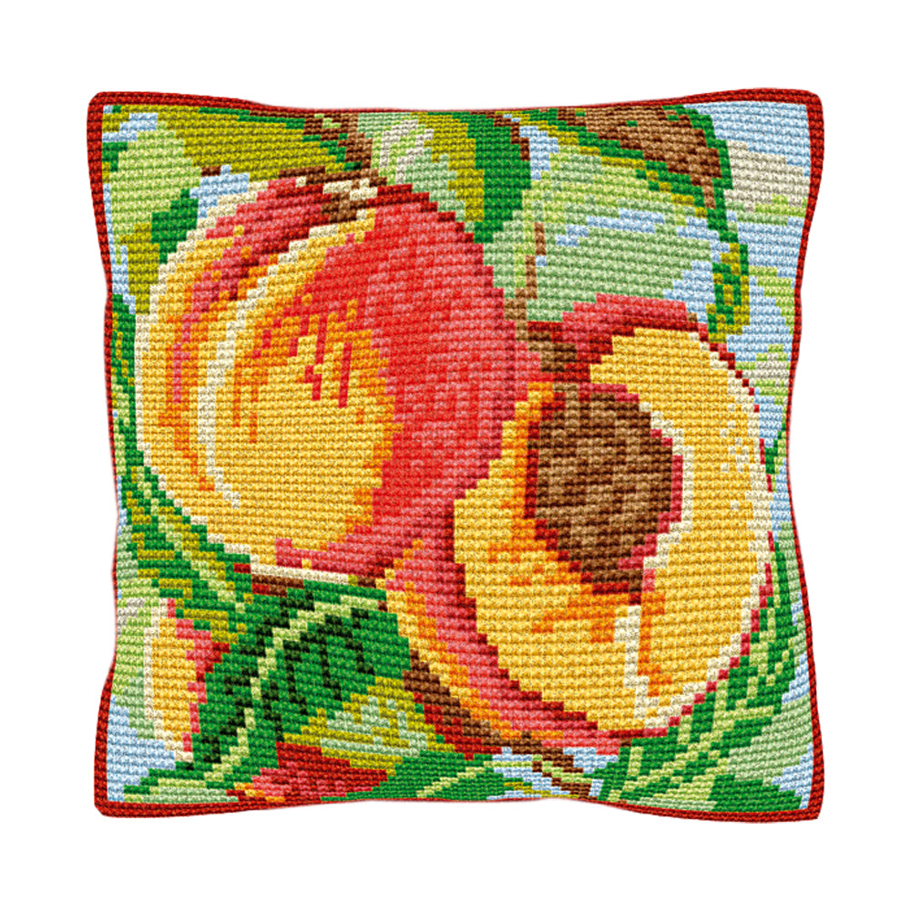 Peaches Cushion Tapestry Kit