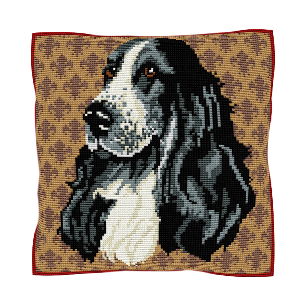 Cocker Spaniel Cushion Tapestry Kit