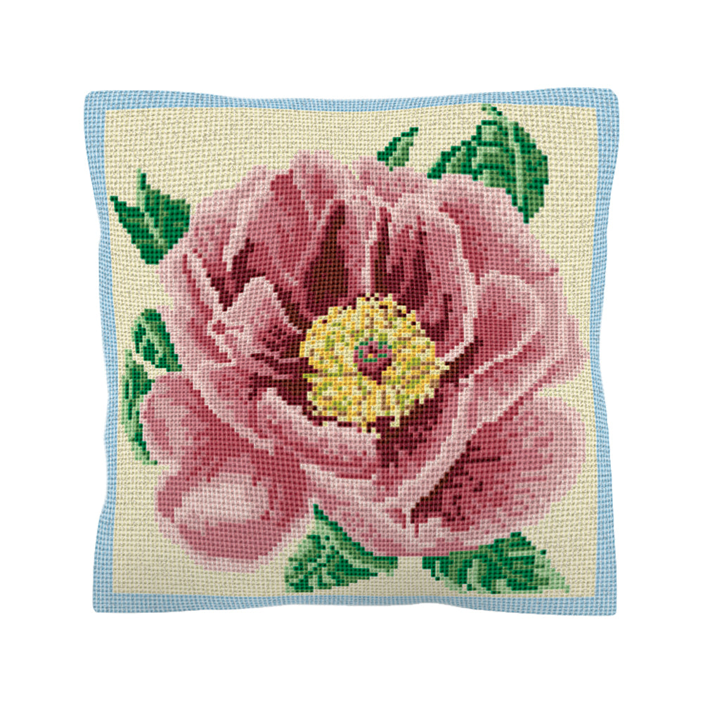 Peony Cushion Tapestry Kit