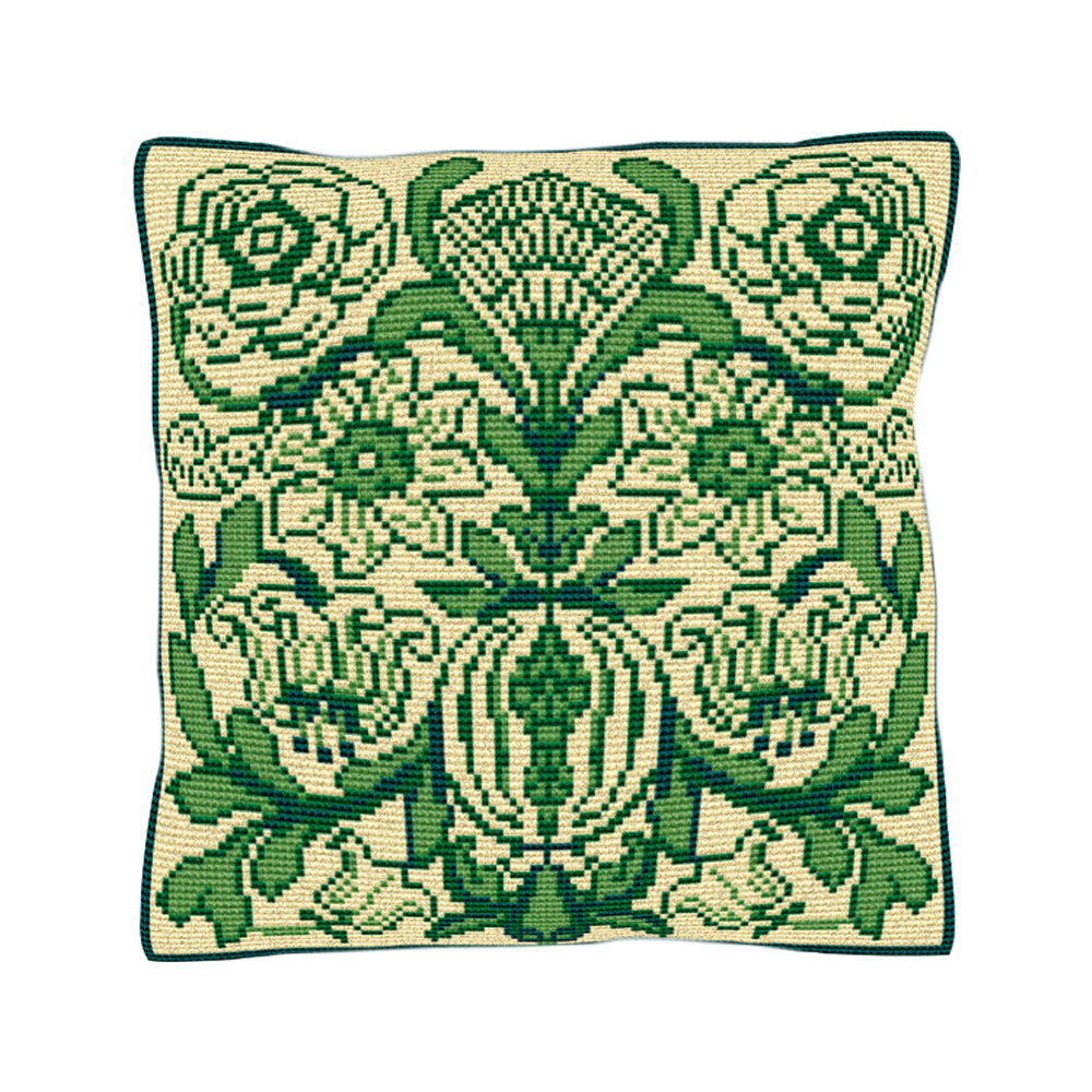 Victorian Tile Cushion Tapestry Kit