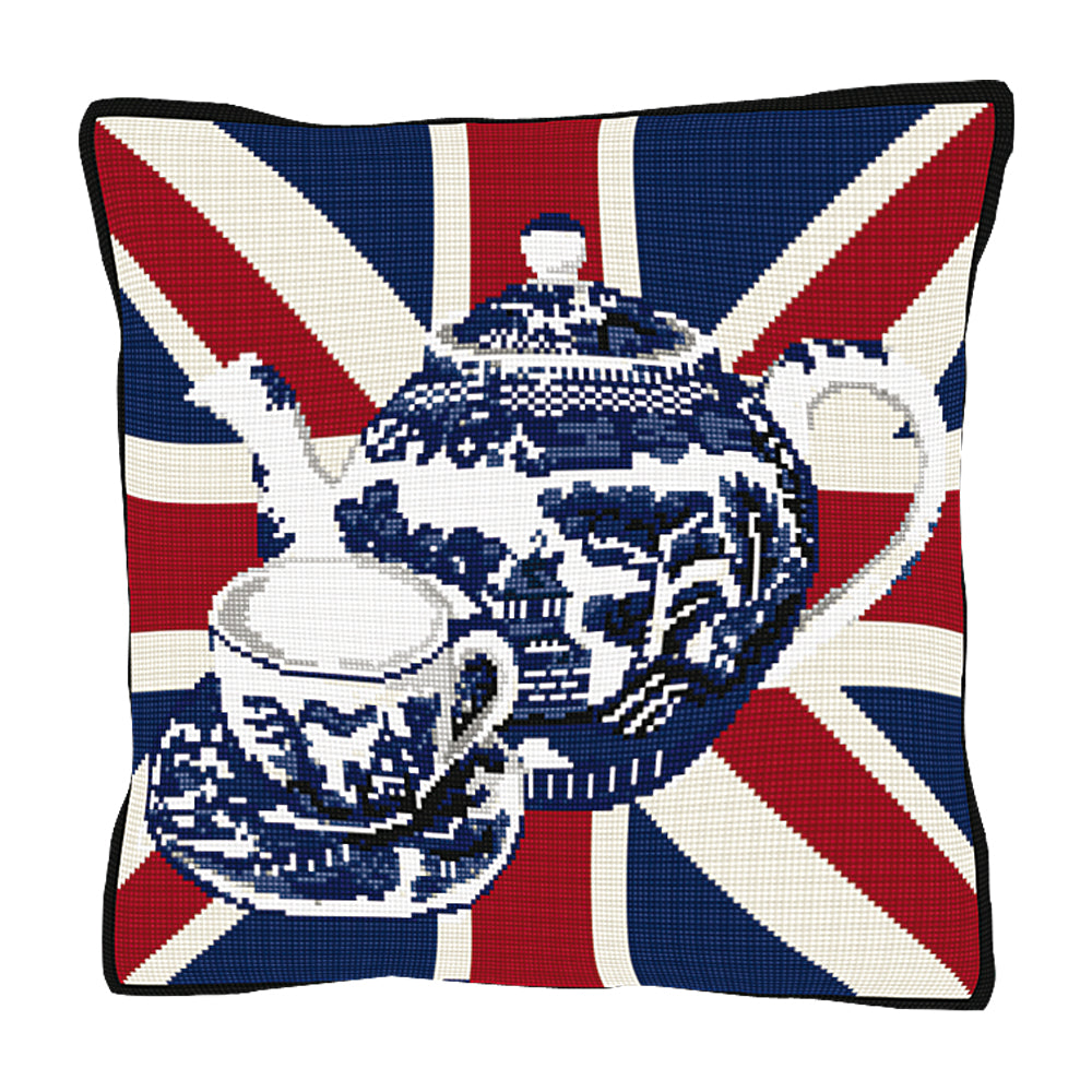 Afternoon Teapot Cushion Tapestry Kit