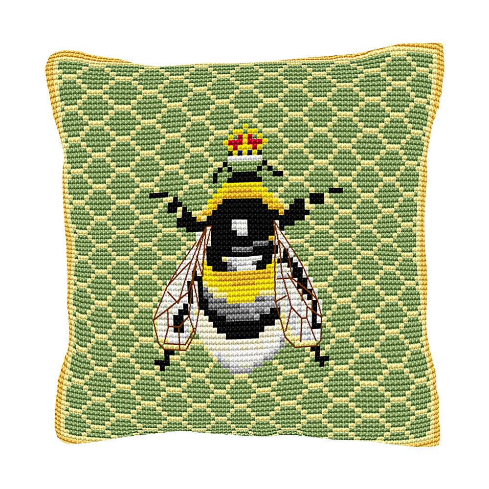 Bumble Bee Cushion Tapestry Kit