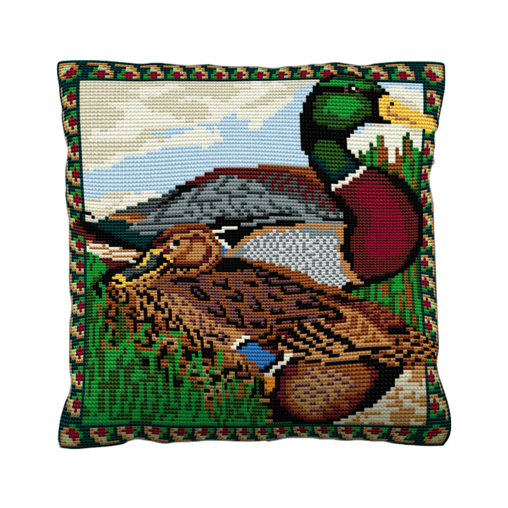 Mallard Cushion Tapestry Kit