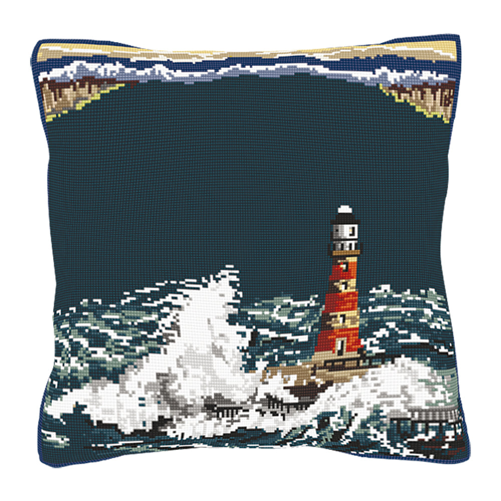 Lighthouse Cushion Tapestry Kit