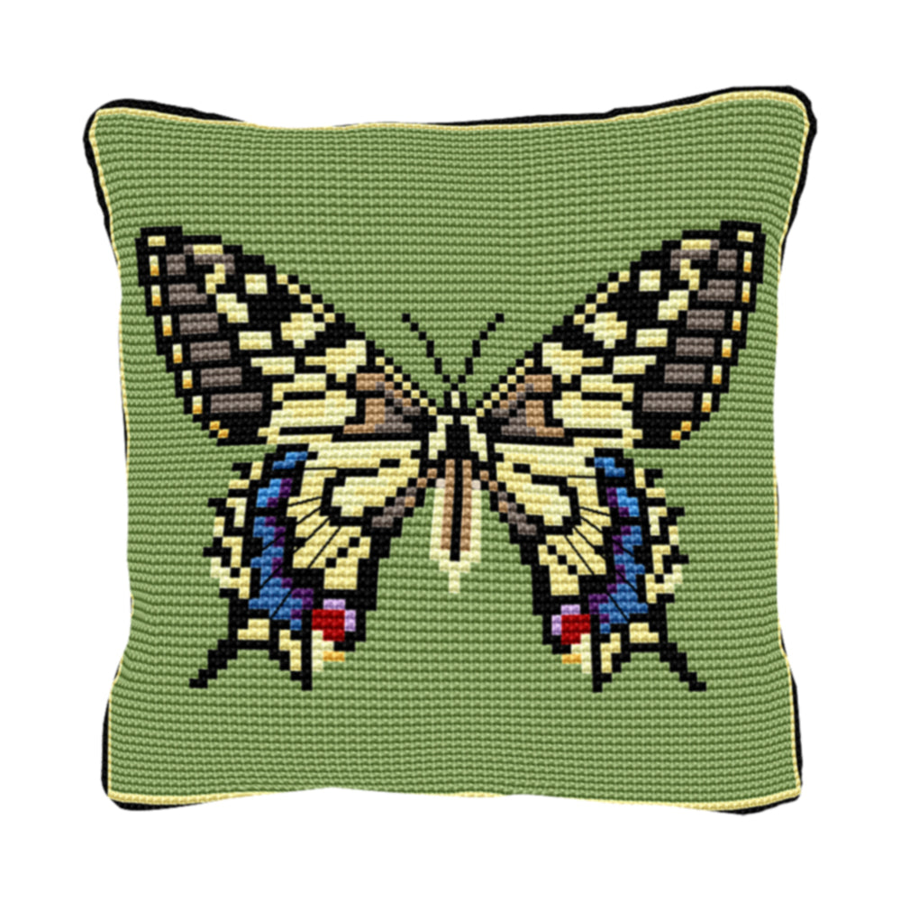 Swallowtail Cushion Tapestry Kit
